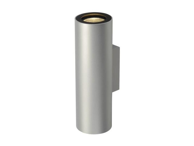 SLV ENOLA_B UP-DOWN zilvergrijs/zwart 2xGU10