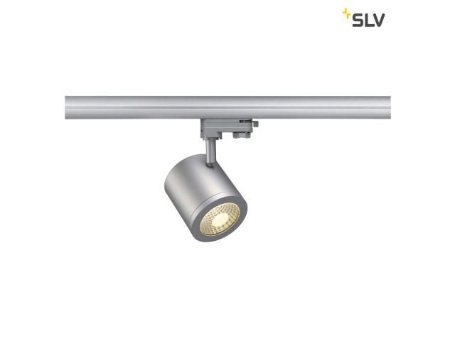 SLV ENOLA_C zilvergrijs 1xLED 3000K 55° 3-Fase