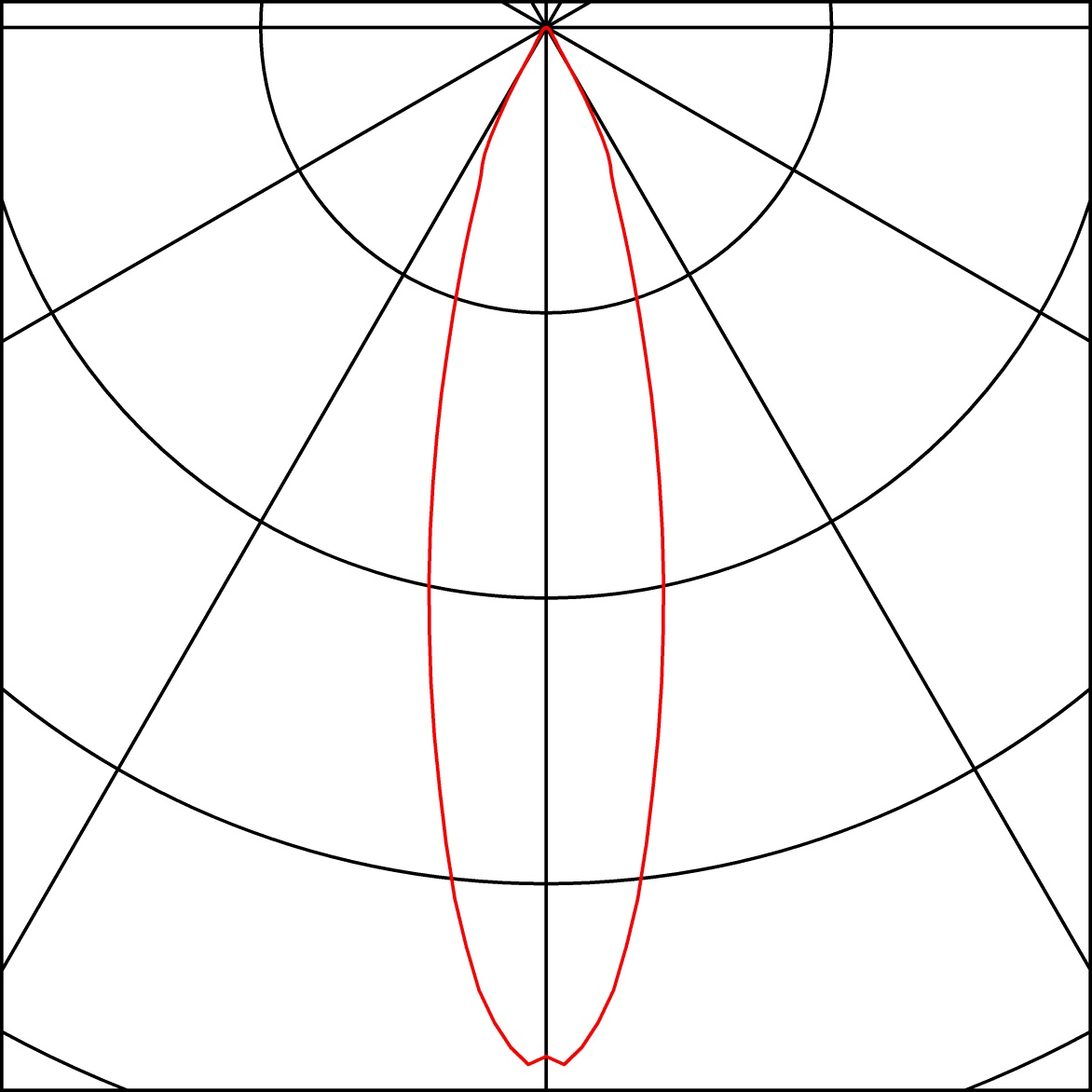 SLV DEBASTO zwart 1xLED 3000K 3-Fase