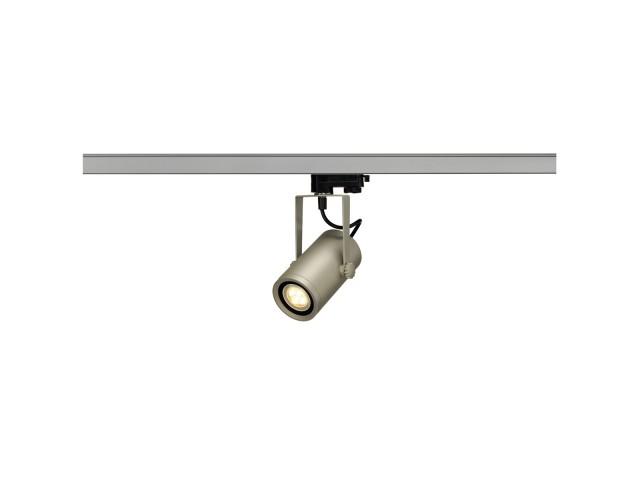 SLV EURO SPOT INTEGRATED LED z.grijs 2700K 36° 3-F