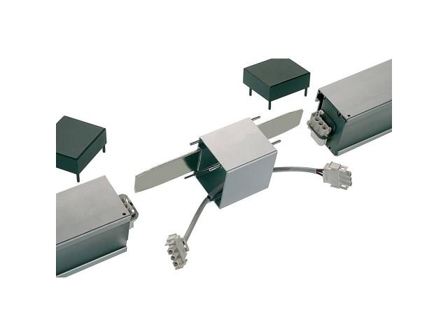 SLV Doorverbinder voor Q-LINE alu-natuur