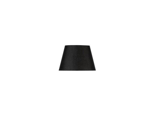 SLV FENDA 30cm lampenkap conisch zwart