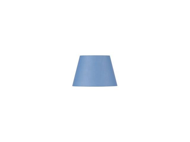 SLV FENDA 30cm lampenkap conisch blauw