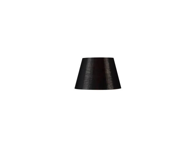 SLV FENDA 30cm lampenkap conisch zwart/koper