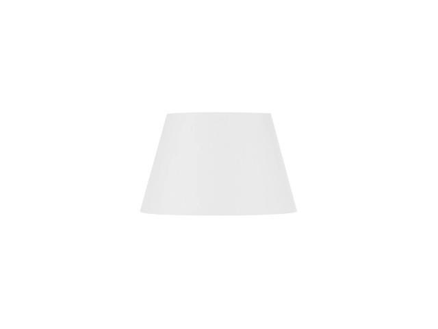 SLV FENDA 45cm lampenkap conisch wit