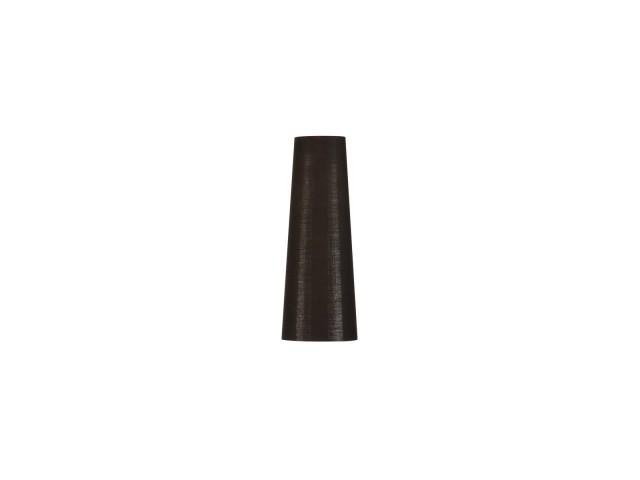SLV FENDA 15cm lampenkap conisch zwart/koper