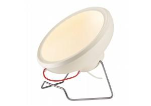 BIG WHITE I-RING wit mat 2xLED 3000K staande lamp (156321) Staande lampen van SLV