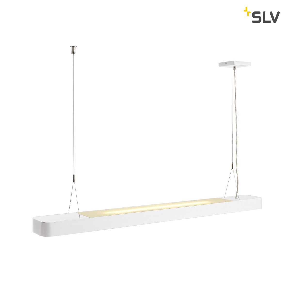 SLV WORKLIGHT LED pendel wit
