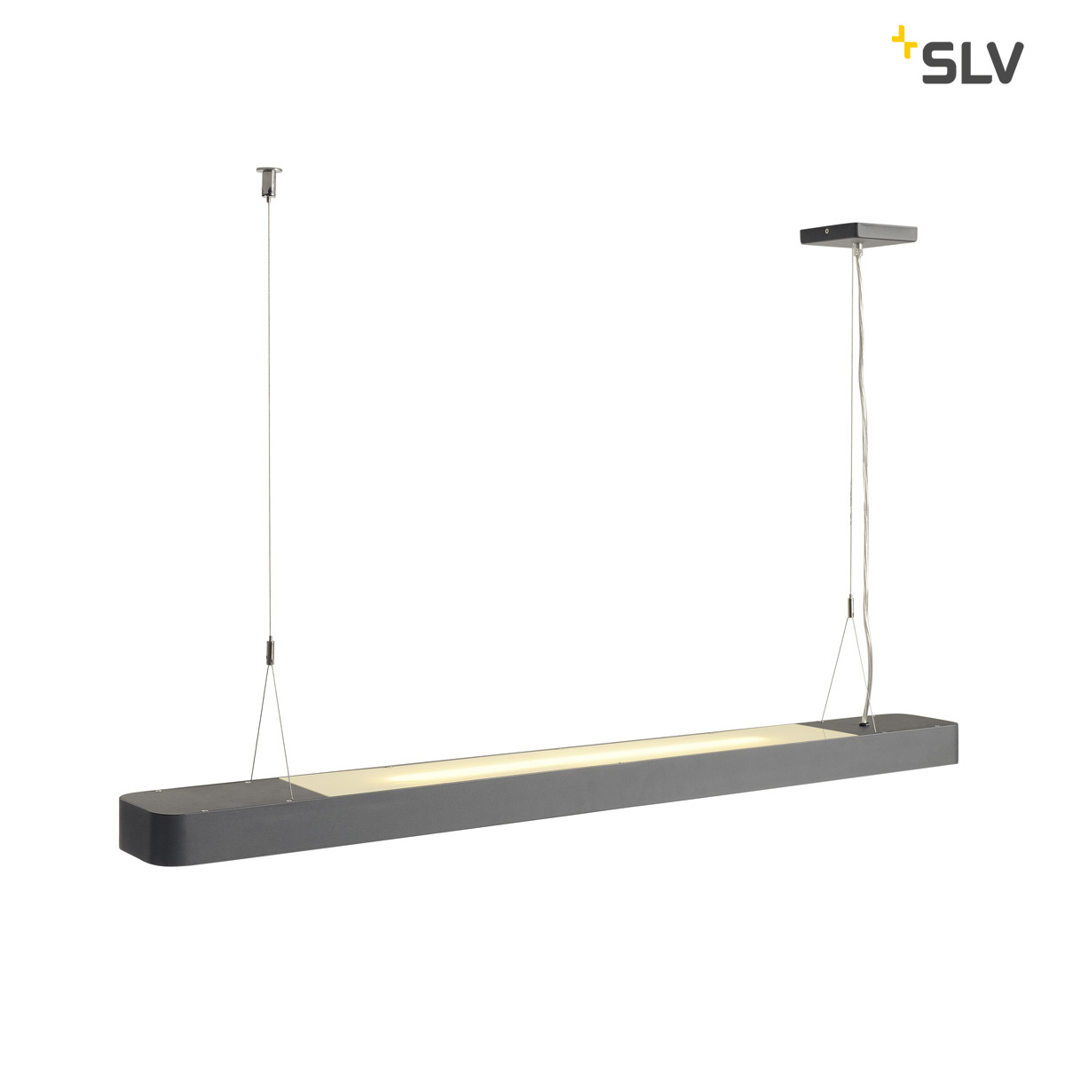 SLV WORKLIGHT LED pendel antraciet