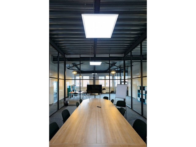 SLV I-VIDUAL LED PANEL 60x60 raster wit 1xLED 3000K