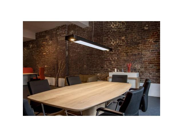 SLV AIXLIGHT R2 OFFICE LED LONG zwart LED, 2xES111