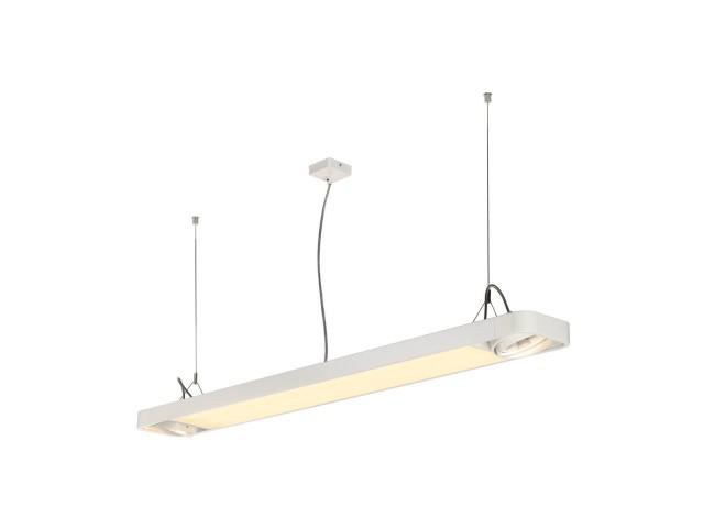 SLV AIXLIGHT R2 OFFICE LED LONG wit LED, 2xES111