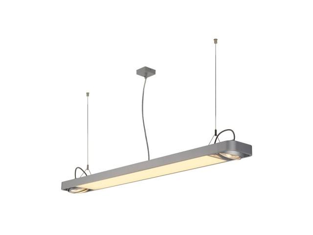SLV AIXLIGHT R2 OFFICE LED LONG zil.grijs LED, 2xES111