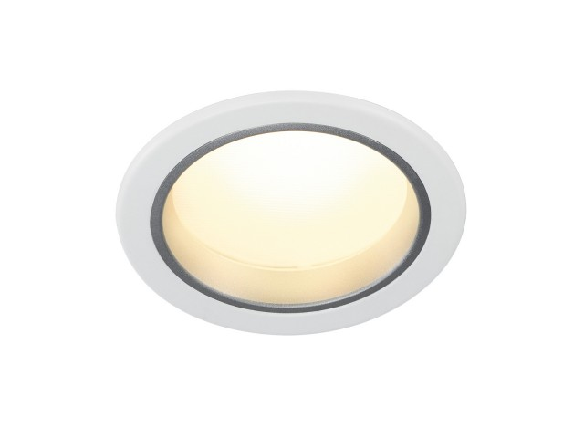SLV DOWNLIGHT 15 wit 1xLED 3000K 7W