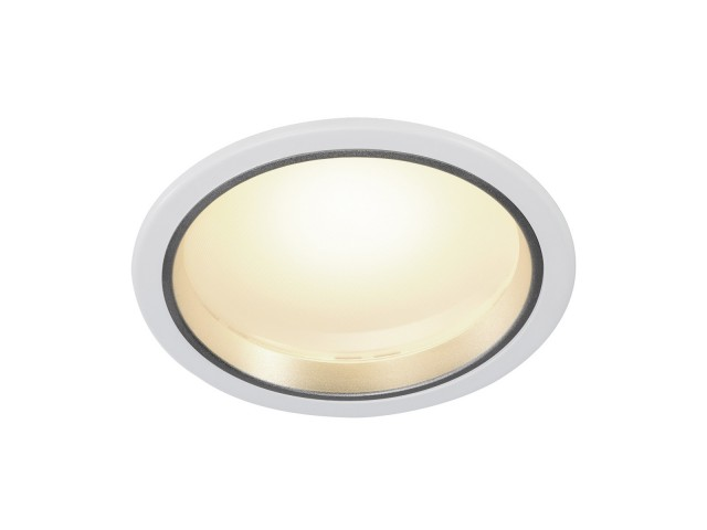SLV DOWNLIGHT 20 wit 1xLED 3000K 15W
