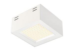 BIG WHITE LEDPANEL 100 SMD CL wit 1xLED 3000K (162491) LED panelen van SLV