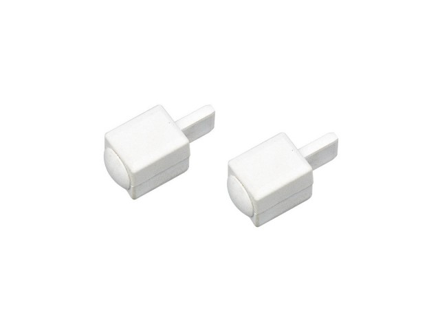 SLV Eindkappen voor APOLLO wit, 2 stuks