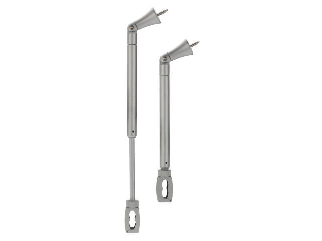 SLV Flexibele plafondbeugel EASYTEC 2 zilvergrijs