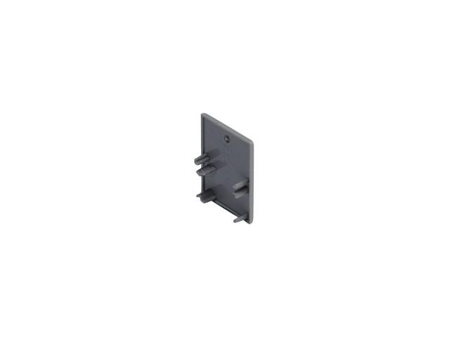 SLV Eindkap voor LED WANDPROFIEL zilvergrijs 2 st