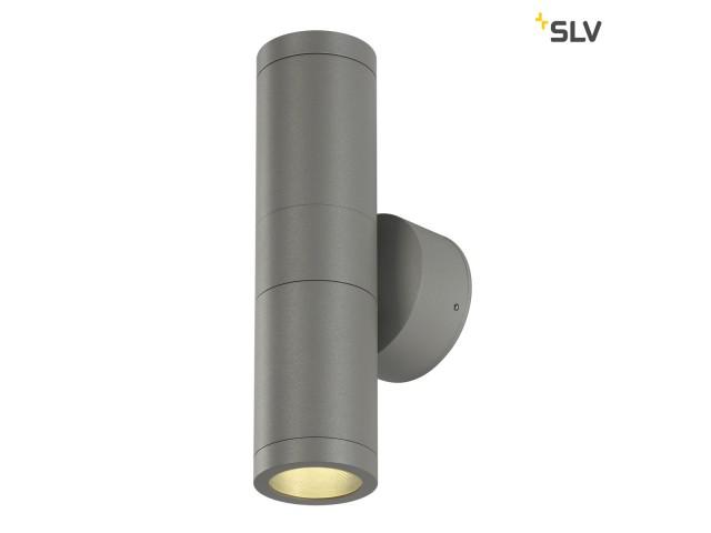SLV ASTINA zilvergrijs 2xGU10