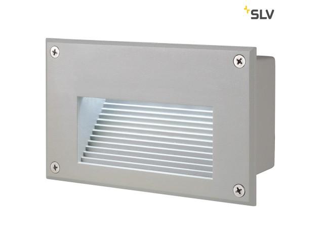 SLV BRICK LED DOWNUNDER zilvergrijs 1xLED 6500K