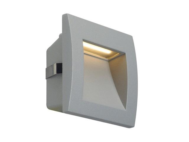 SLV DOWNUNDER OUT LED S zilvergrijs 1xLED 3000K
