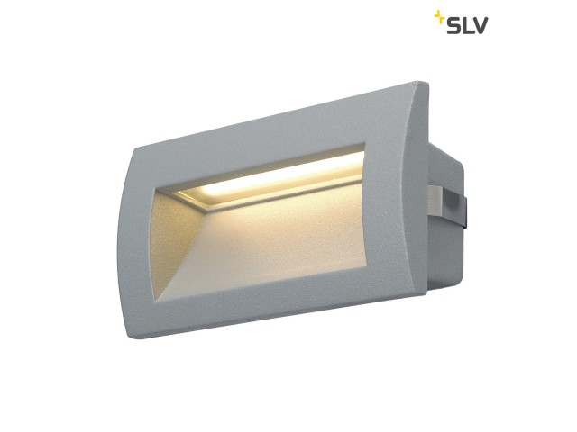 SLV DOWNUNDER OUT LED M zilvergrijs 1xLED 3000K