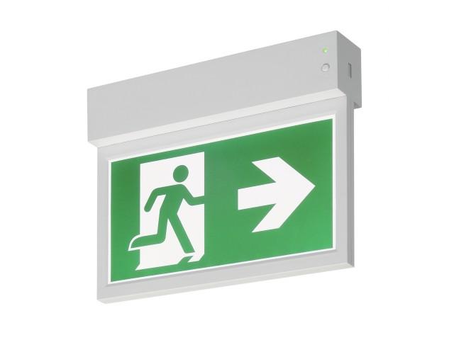 SLV P-LIGHT 27 Noodverlichting exit sign klein