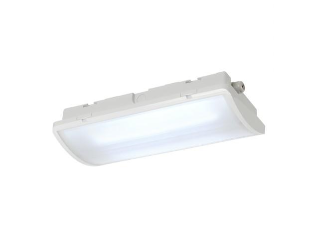 SLV P-LIGHT Noodverlichting wit 2xLED 6000K