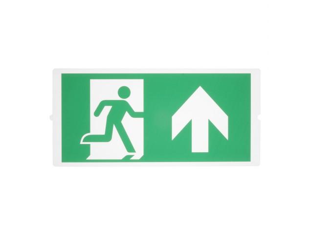 SLV P-LIGHT Noodverlichting exit pictogramfolie 3-delig