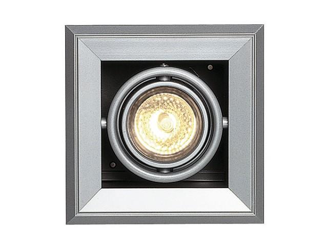 SLV AIXLIGHT MOD 1 MR16 zilvergrijs/zwart 1xGU5,3