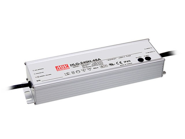 Mean Well Voeding 240VA 24V 10A HLG-240H-24A