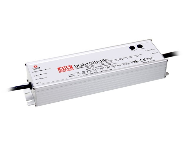 Mean Well Voeding 150VA 24V 5A HLG-150H-24A