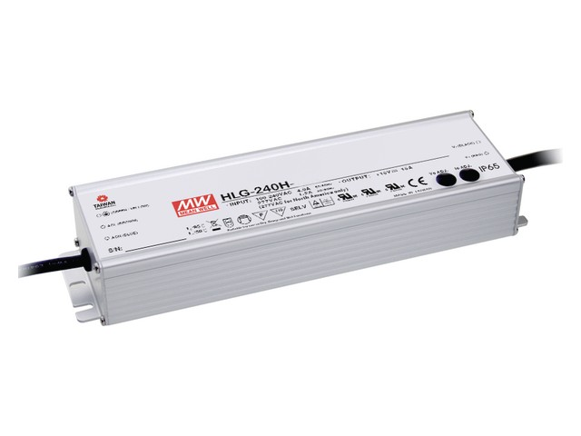 Mean Well Meanwell voeding 240VA 24V 10A HLG-240H-24B 1-10V