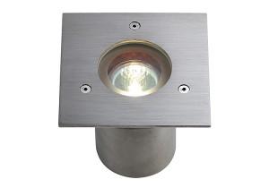 BIG WHITE N-TIC PRO MR16 EDELSTAAL square gebor. 1xGU5,3 (230904   312066) Vloerlampen van SLV