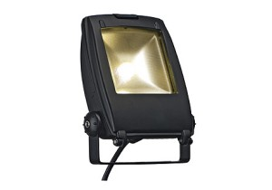 BIG WHITE LED FLOOD LIGHT 10W zwart 1xLED 5700K (231151 | 312767) Washlights van SLV