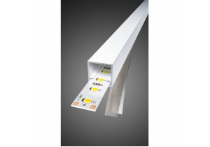 BIG WHITE Profiel-Strip STAND 120 24V 10mm x 3m 3000K 850lm (552733) LED strips van SLV