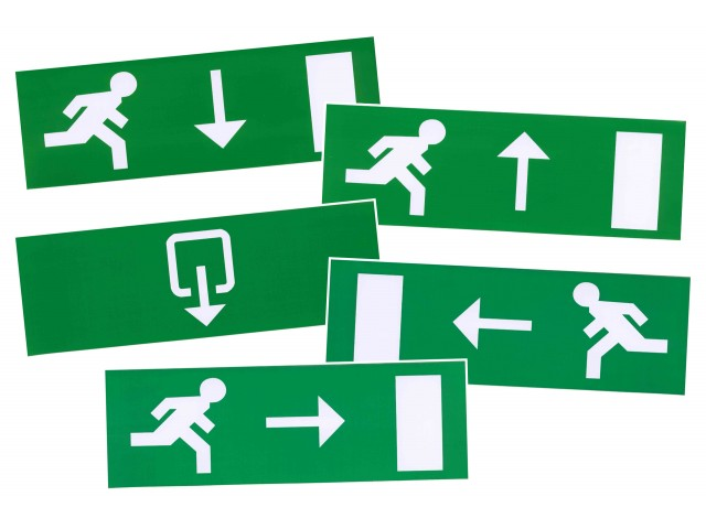 DecaLED® Pictogram Set 5 stk voor 94000115