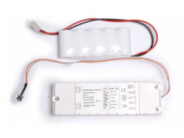 DecaLED® Nood Powerpack Ni-cd 6V 1800mAh Led Downlight 23W