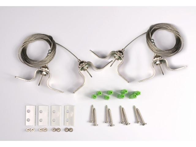 DecaLED® Ophangset voor Panel Side-lit Range