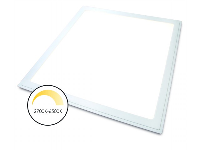 DecaLED® Panel Back-lit 595x595mm White Shades 2700-6500K