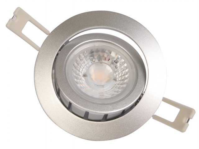 DecaLED® Downlight HaloRep-R Silver 6-9W 2700K IP54