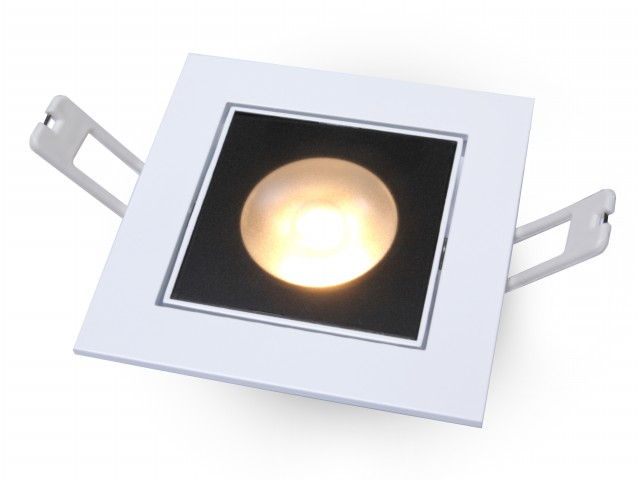 DecaLED® Downlight HaloRep-SQ White 6-9W 2700K IP54