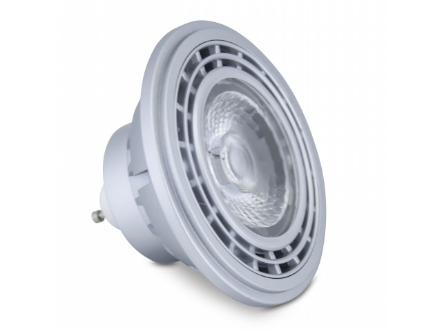 DecaLED® High Power ES111 GU10 10W 2700K, dimbaar
