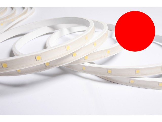 DecaLED® Pro Flex IP65 30 leds/m 24V per mtr Rood