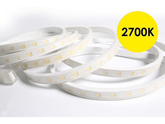 DecaLED® Pro Flex IP65 60 leds/m 24V per mtr 2700K