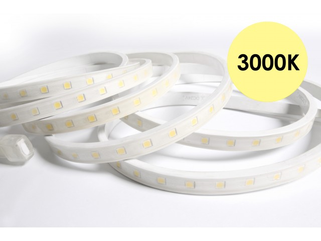 DecaLED® Pro Flex IP65 60 leds/m 24V per mtr 3000K