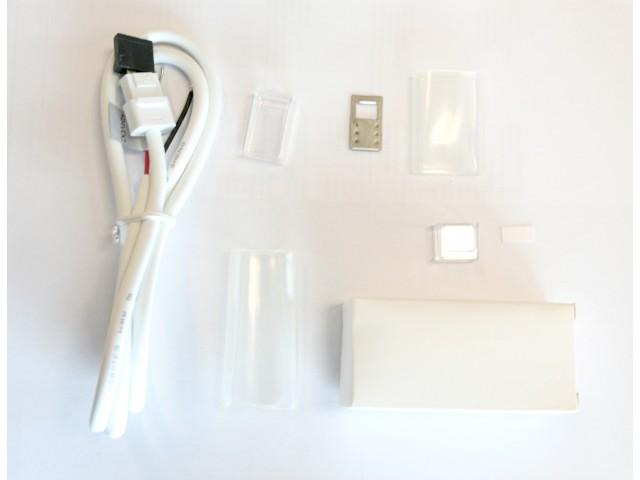 DecaLED® Pro Flex IP65 Aansluitset Rechts 1mtr White Shades, incl. eindkapje