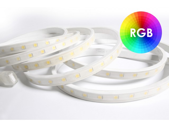 DecaLED® Pro Flex IP65 60 leds/m 24V per mtr RGB