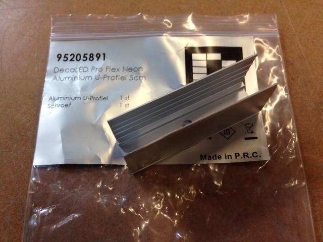 DecaLED® Pro Flex Neon Aluminium Profiel 5cm